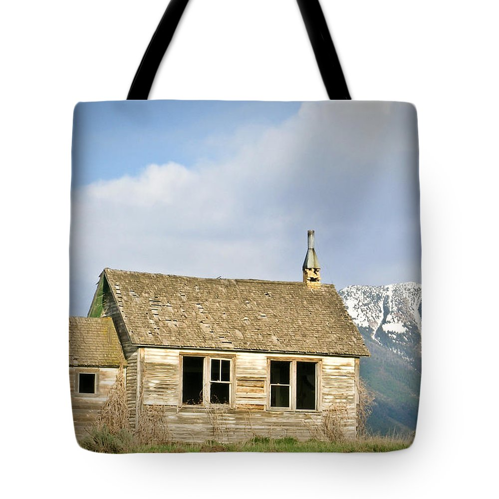Church Tote Bag featuring the photograph Church And School by Douglas Barnett