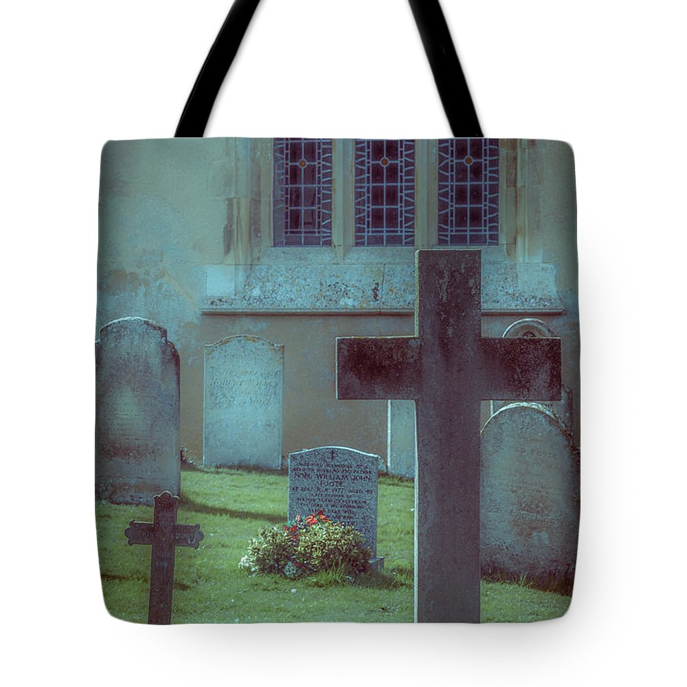 Photography Tote Bag featuring the photograph Church Yard by Joe Rey