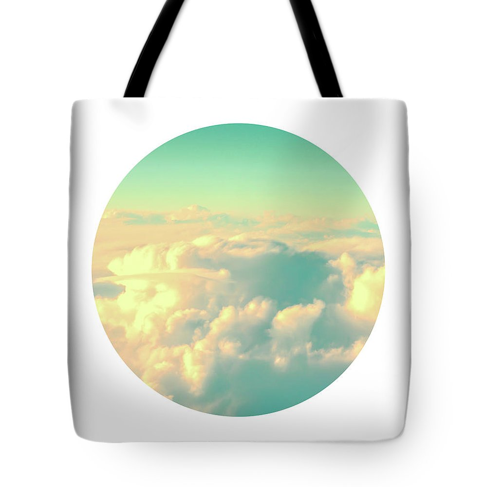 Sky Tote Bag featuring the photograph Circle Sky by Delphimages Photo Creations