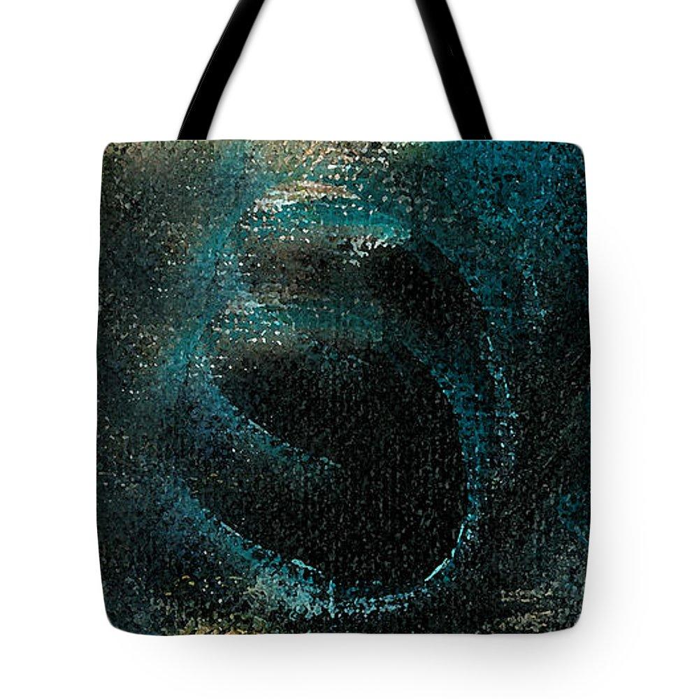 Circ Tote Bag featuring the mixed media Circscreams by Jorge Delara