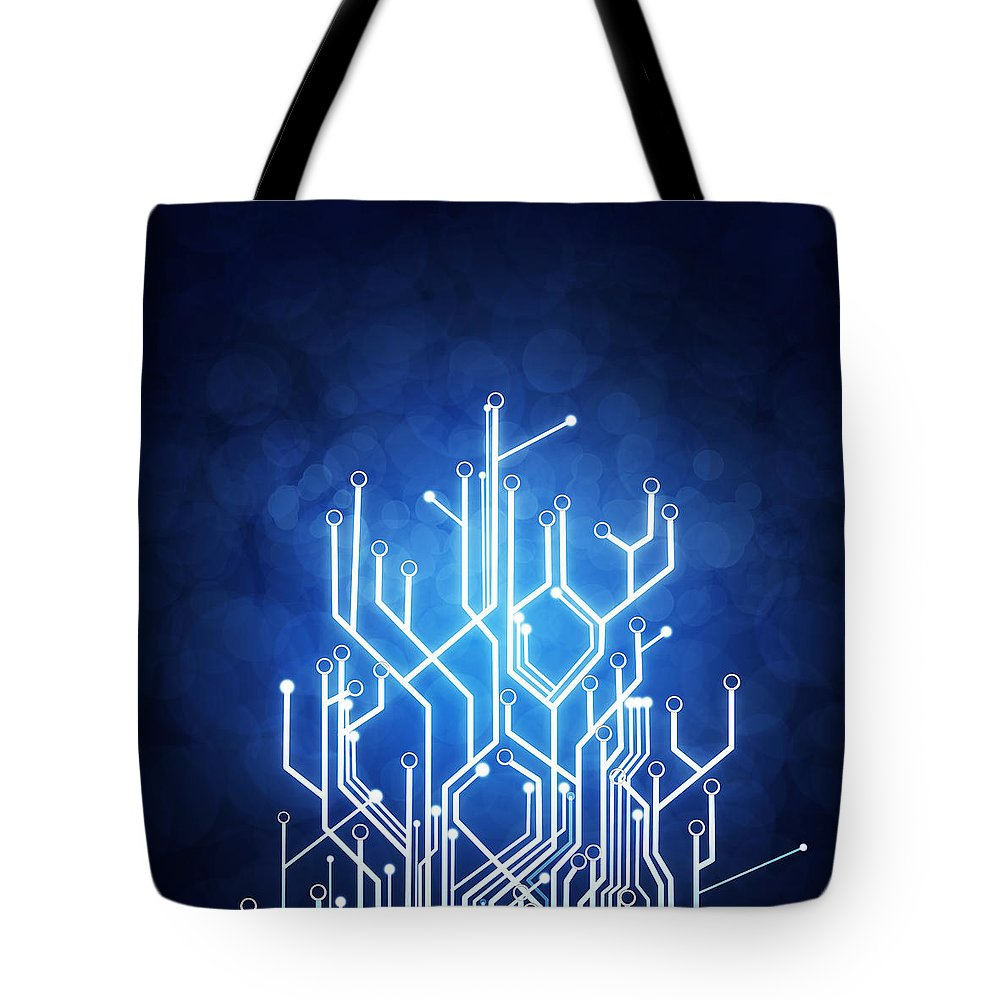 Abstract Concept Tote Bags