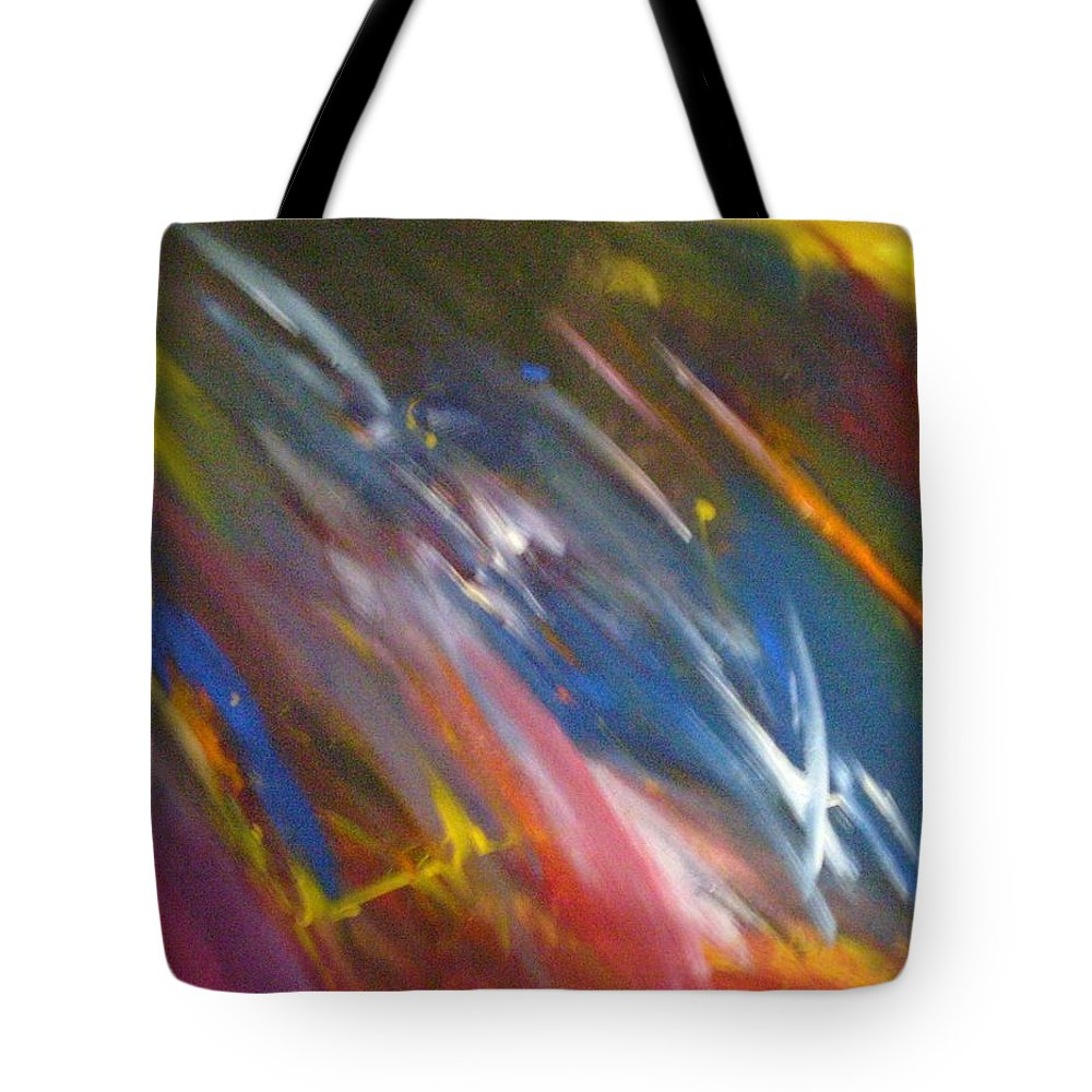 World Tote Bag featuring the painting Circumference by Kelly Turner