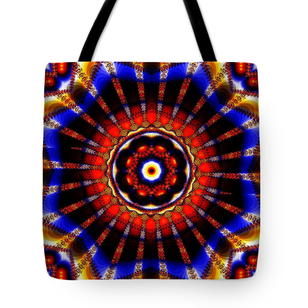 Clay Tote Bag featuring the digital art Circus by Clayton Bruster