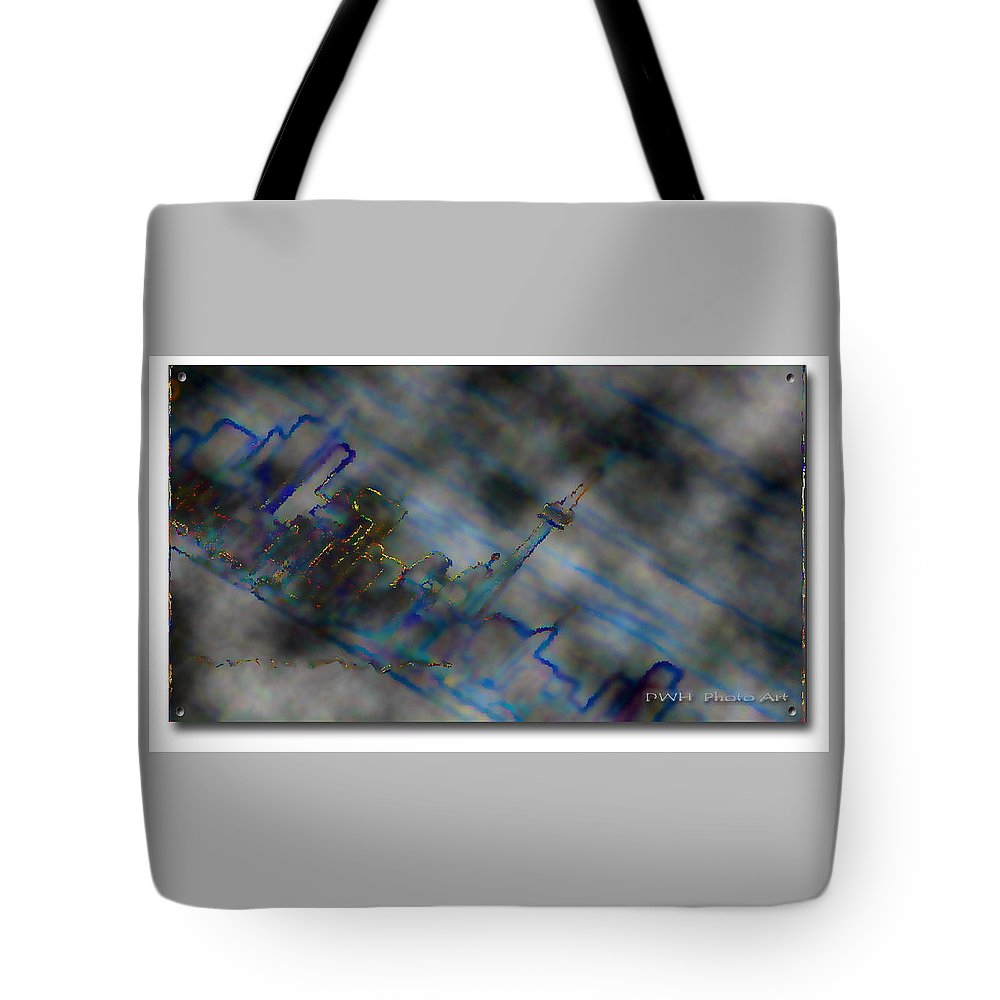 City Tote Bag featuring the photograph Cityscape by David Healey