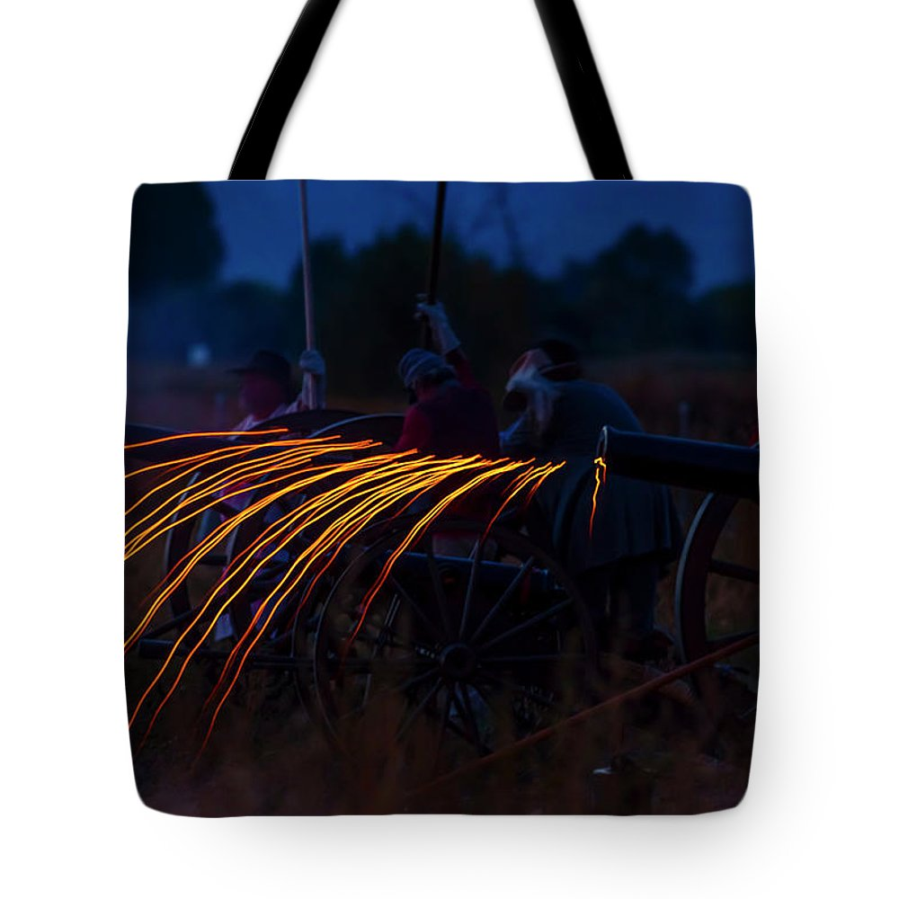 19th Century Tote Bag featuring the photograph Civil War by Jens Peermann