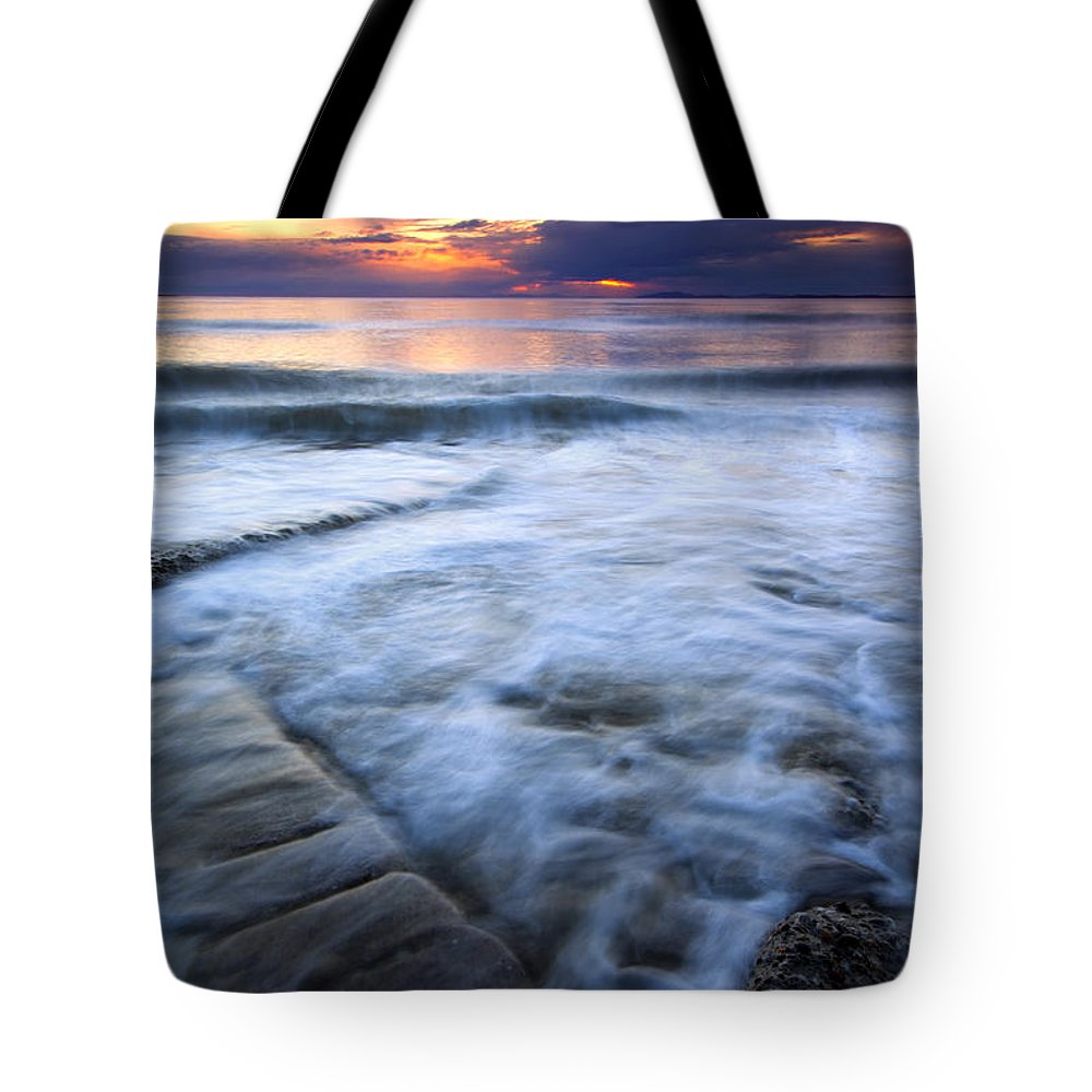 Tides Tote Bag featuring the photograph Civilization Forgotten by Mike Dawson