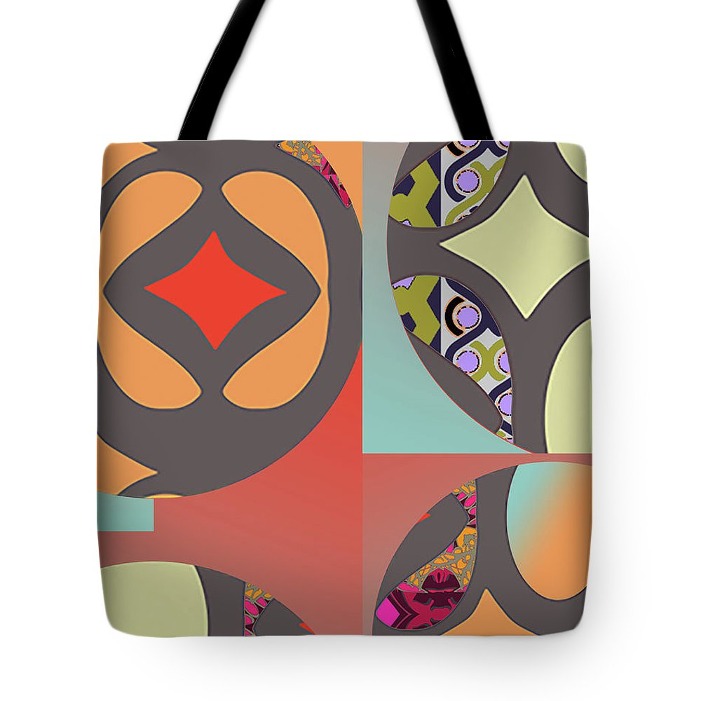 Digital Art Tote Bag featuring the digital art Claire by Ceil Diskin