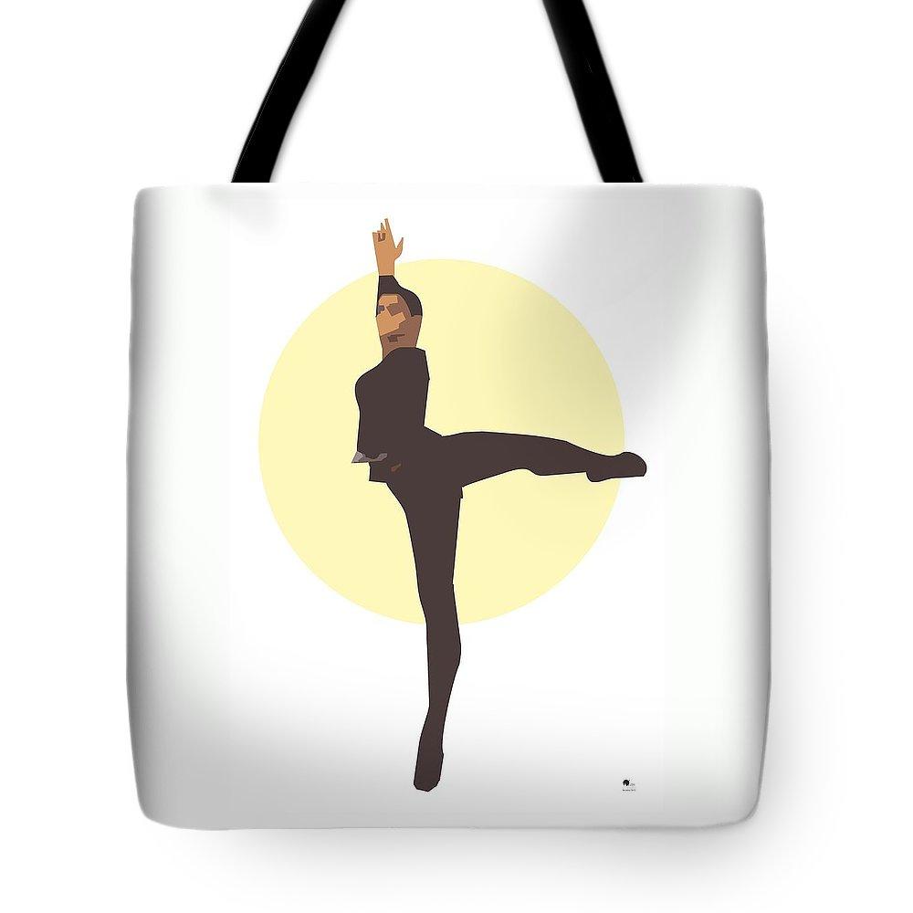Dancer Tote Bag featuring the digital art Classic Ballet Dancer by Joaquin Abella