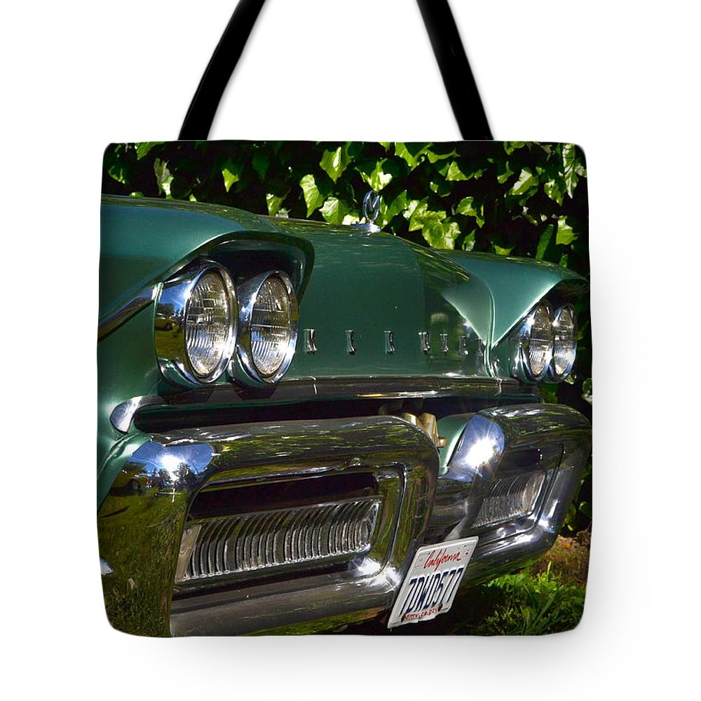 Tote Bag featuring the photograph Classic Chrome by Dean Ferreira