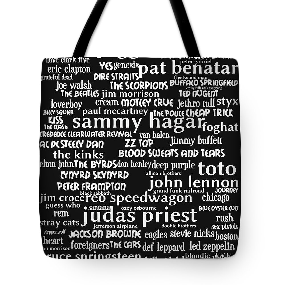 Wingsdomain Tote Bag featuring the photograph Classic Rock bw by Wingsdomain Art and Photography