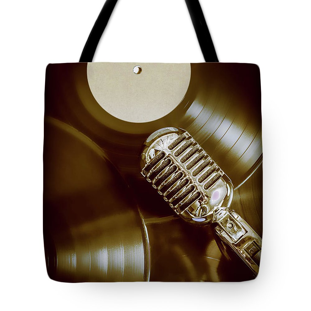 Rock N Roll Tote Bag featuring the photograph Classic Rock N Roll by Jorgo Photography - Wall Art Gallery