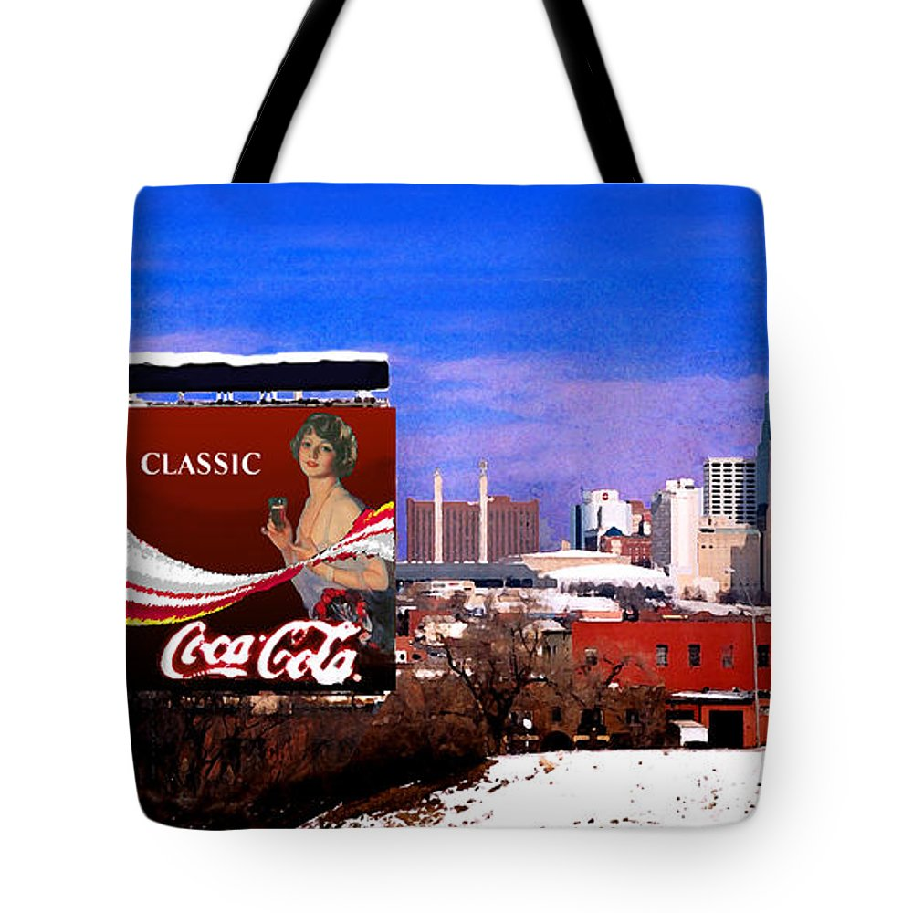 Landscape Tote Bag featuring the photograph Classic by Steve Karol