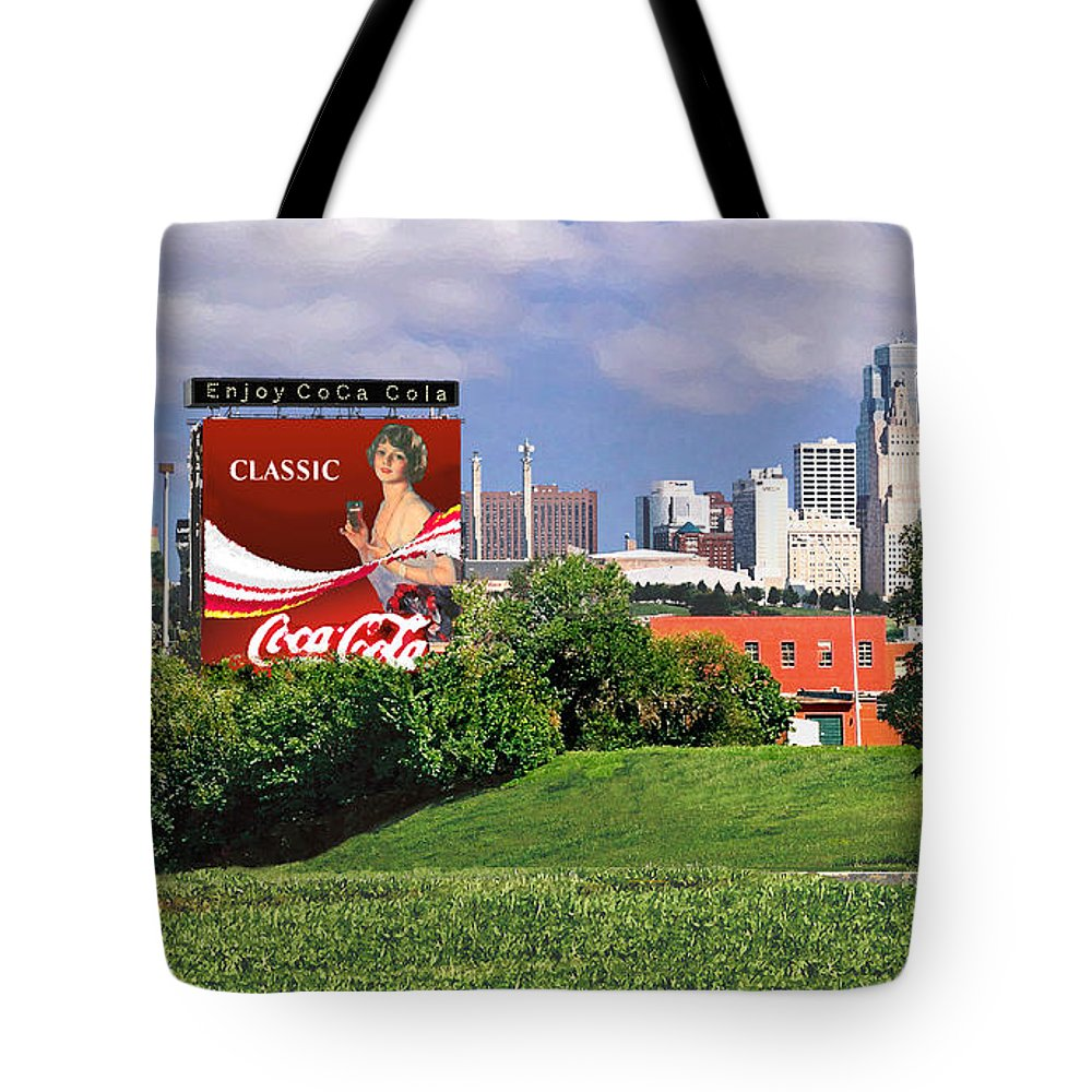 Landscape Tote Bag featuring the photograph Classic Summer by Steve Karol
