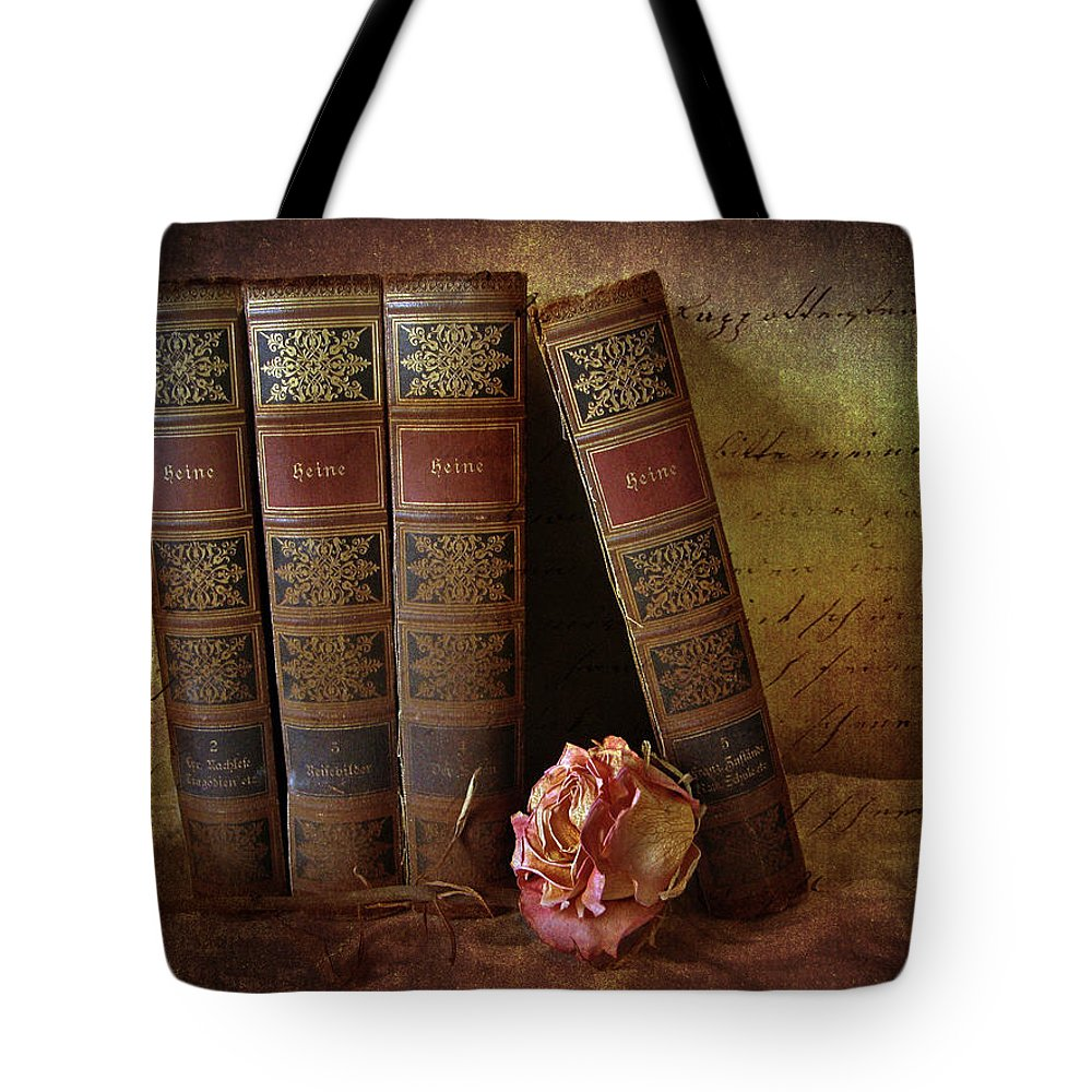 Books Tote Bag featuring the photograph Classics by Jessica Jenney