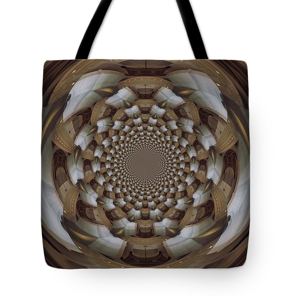 Swirl Tote Bag featuring the digital art Clawing Out by Charleen Treasures