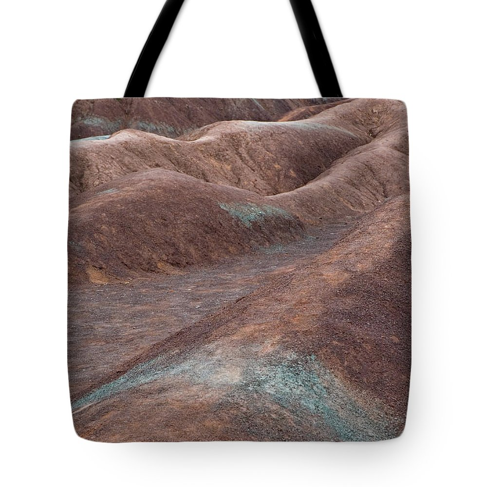 Clayscape Tote Bag featuring the photograph Clayscape by Jacqueline Milner