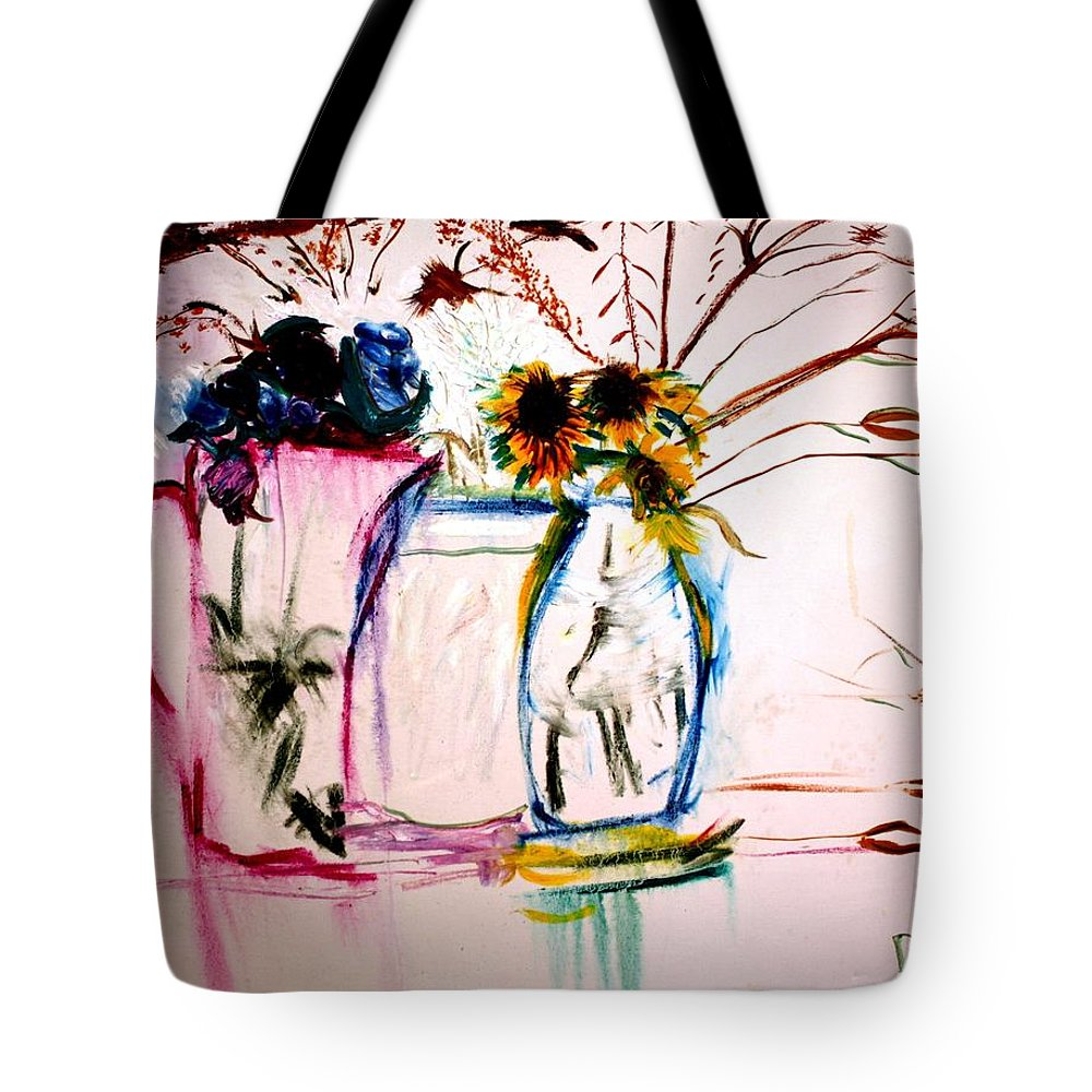Still Life Tote Bag featuring the painting Clear by Jack Diamond