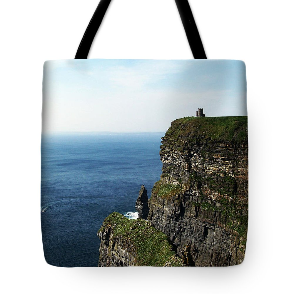 Irish Tote Bag featuring the photograph Cliffs Of Moher Ireland by Teresa Mucha