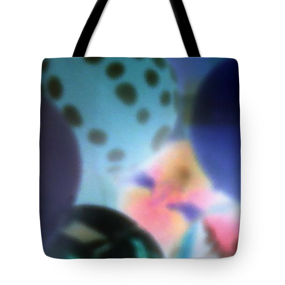 Balls Tote Bag featuring the photograph Close Up Of Rubber Bounce Balls by Cindy New