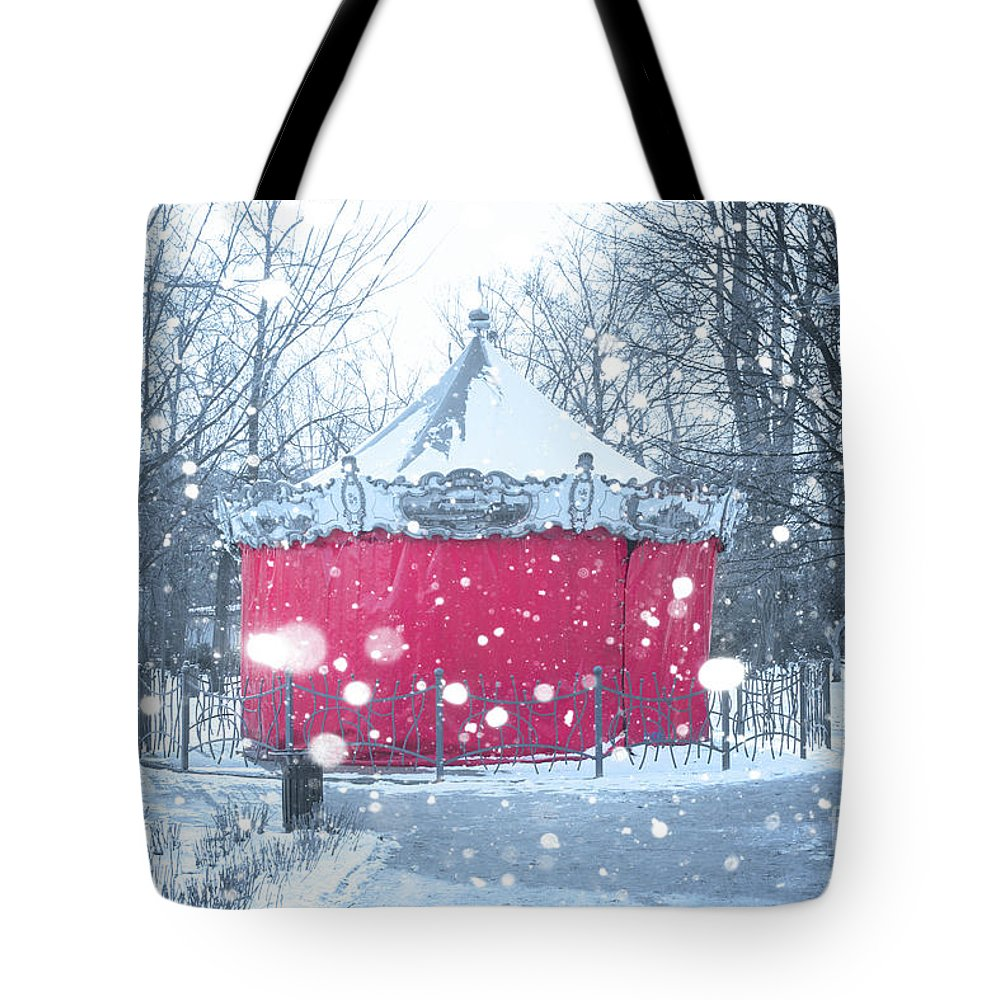 Wroclaw Tote Bag featuring the photograph Closed For Winter by Juli Scalzi