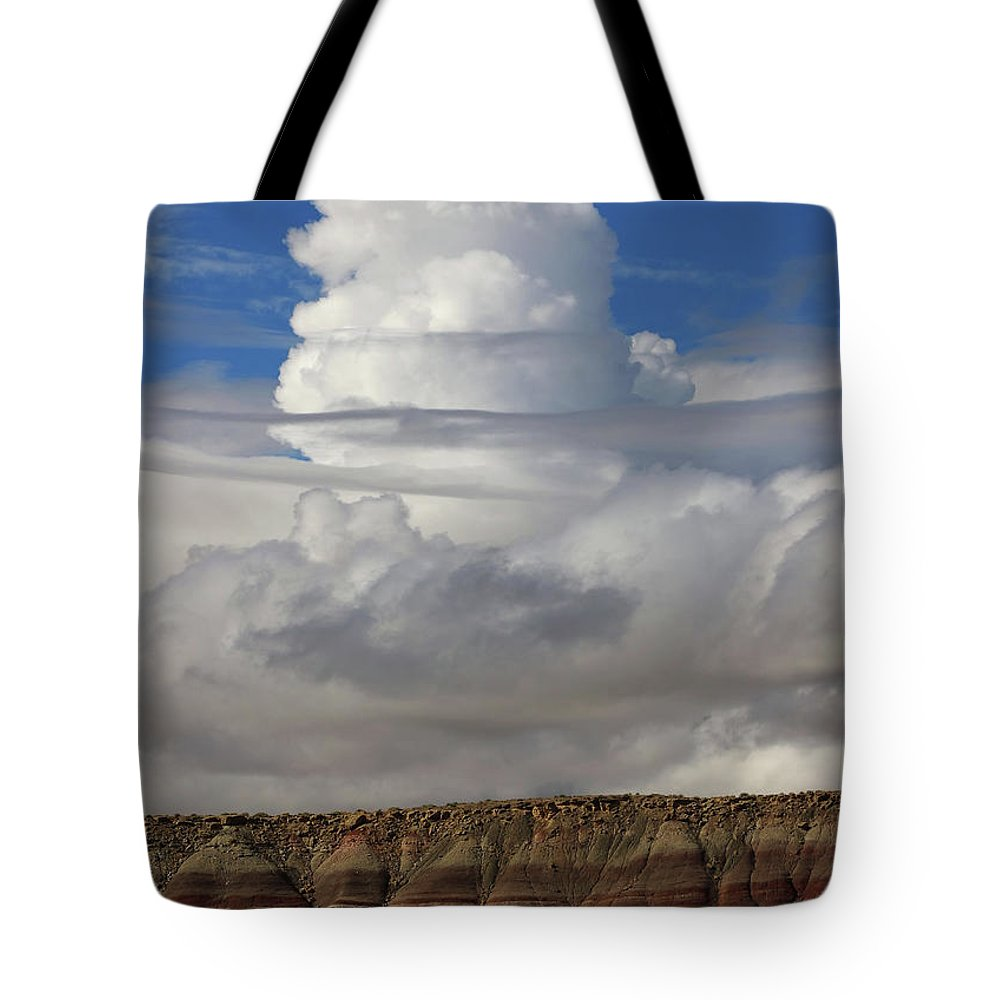 Cloud Tote Bag featuring the photograph Sentinel by Jerry LoFaro