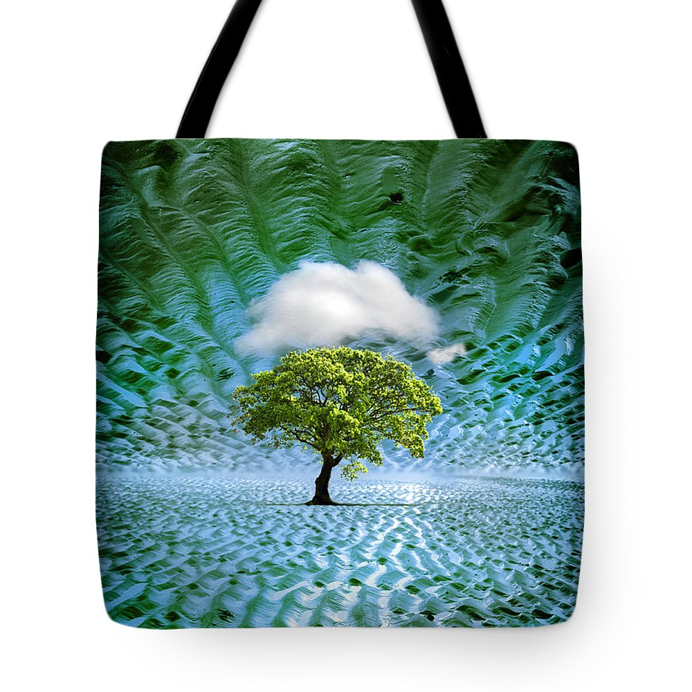Cloud Tote Bag featuring the photograph Cloud Cover Recurring by Mal Bray