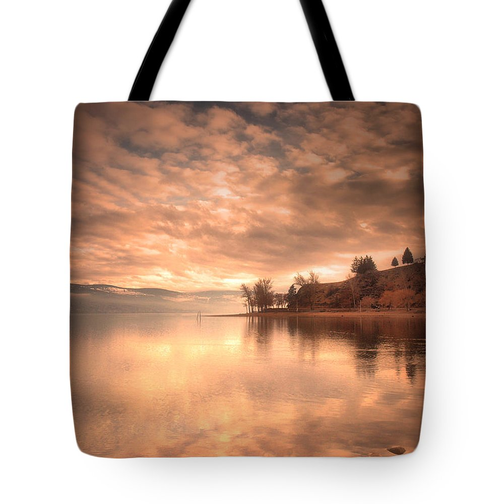 Clouds Tote Bag featuring the photograph Cloud Cover by Tara Turner