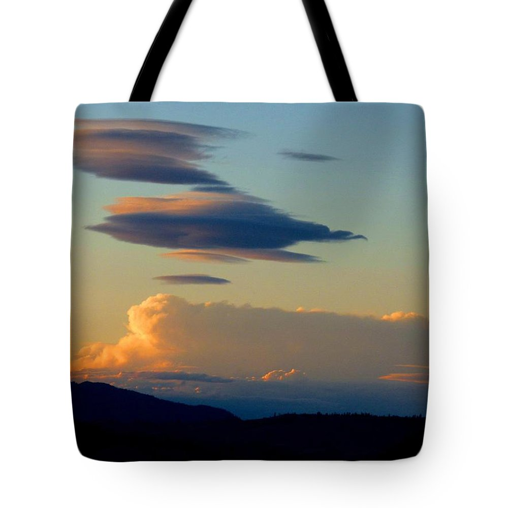 Sky Tote Bag featuring the photograph Cloud Nine 9 by Will Borden
