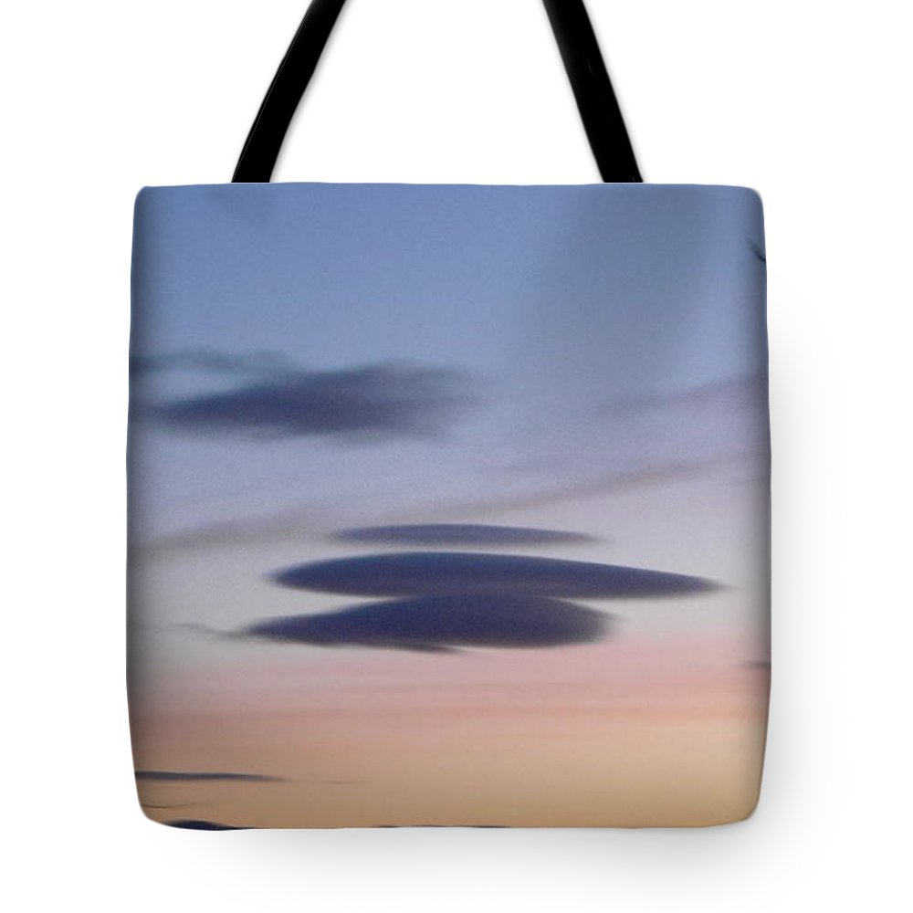Clouds Tote Bag featuring the photograph Clouds 2 by Stephanie Moore