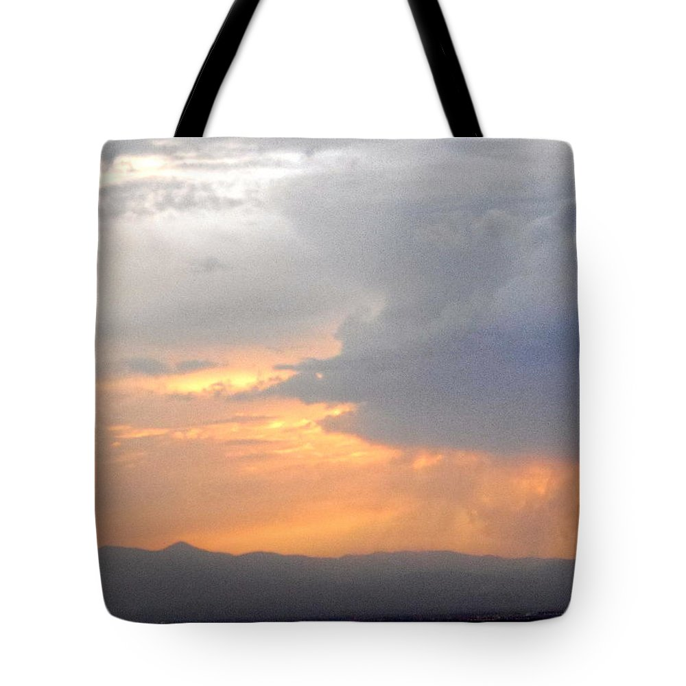 Sky Tote Bag featuring the photograph Clouds 7 by Stephanie Moore
