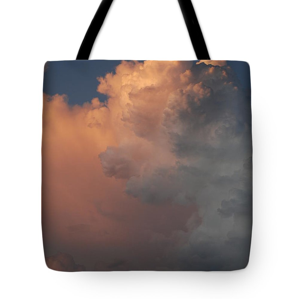 Clouds Tote Bag featuring the photograph Clouds And More Clouds by Rob Hans