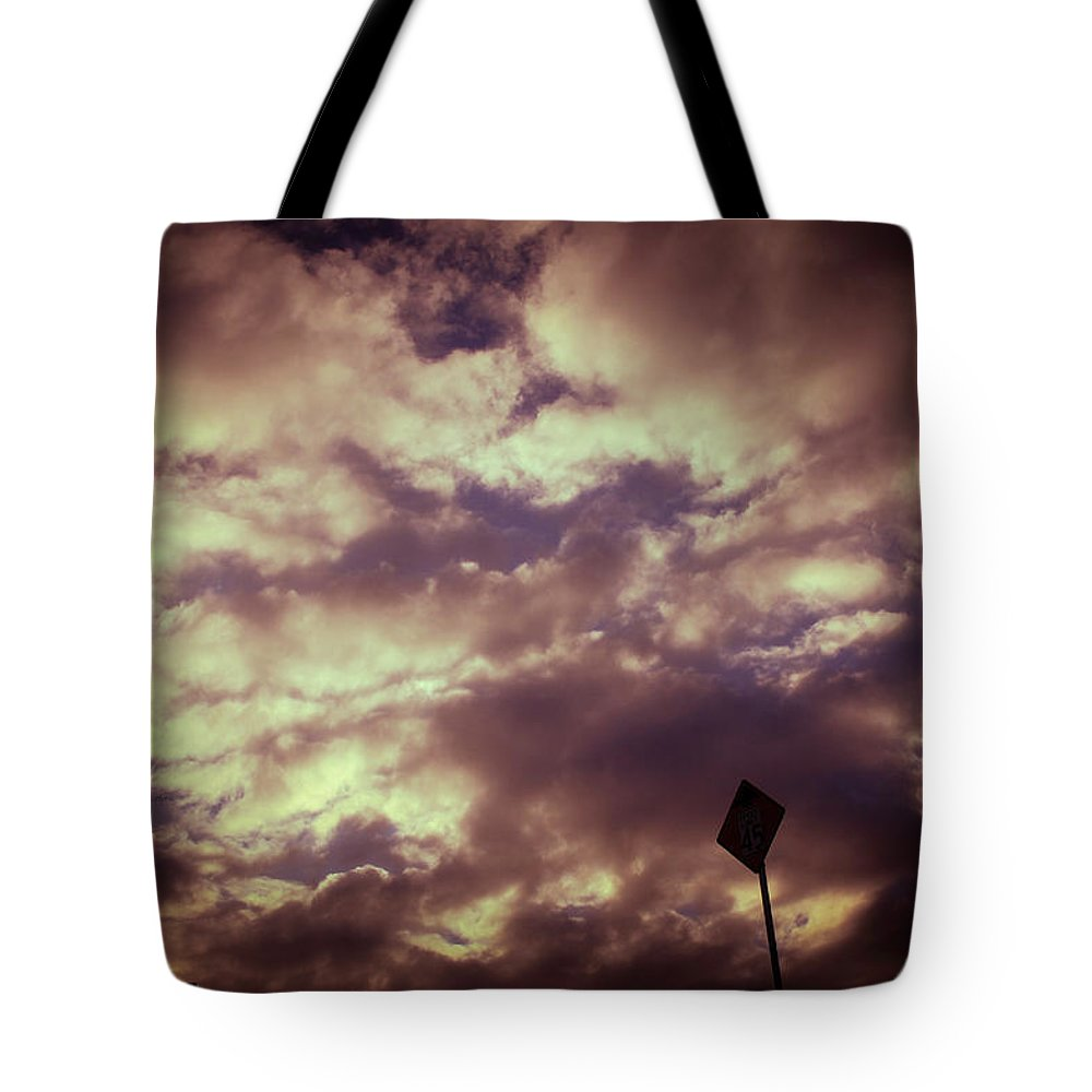 Photography Tote Bag featuring the photograph Clouds by Gaddeline Figueroa