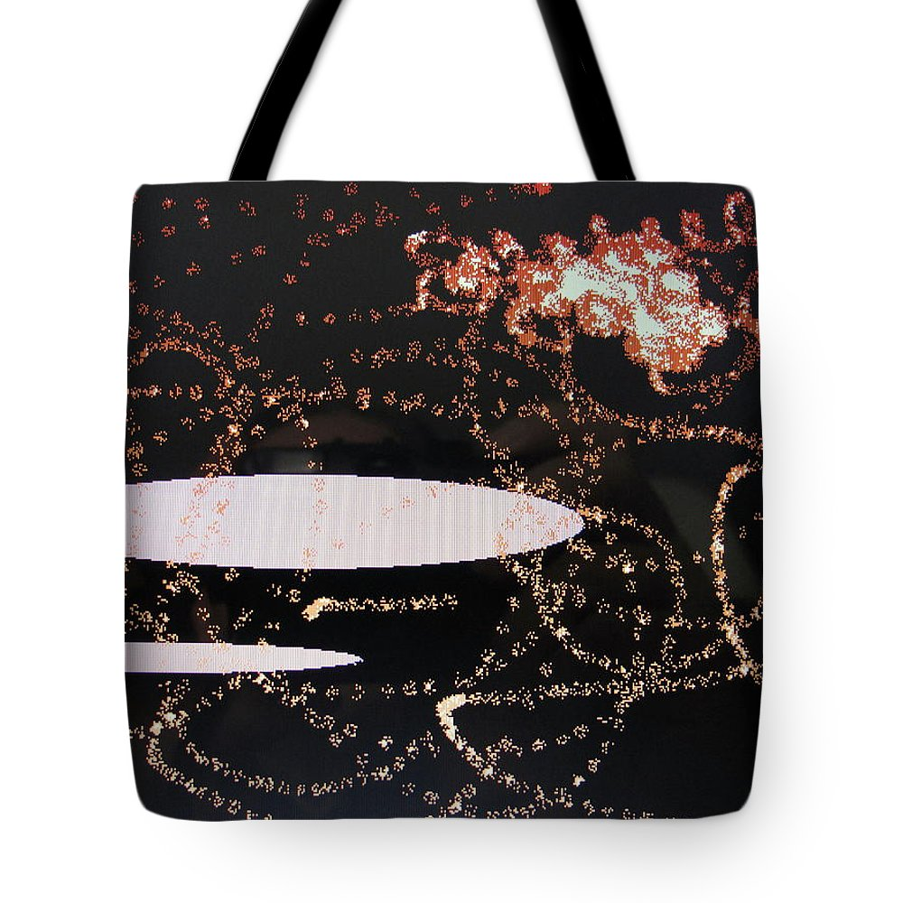 Clouds Tote Bag featuring the digital art Clouds by Ian MacDonald