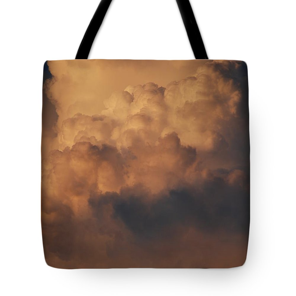 Clouds Tote Bag featuring the photograph Clouds In Color by Rob Hans