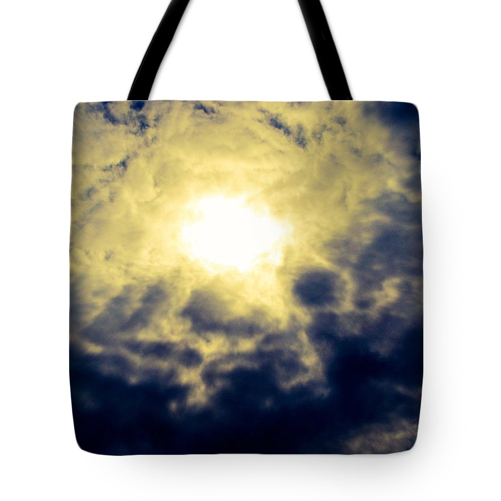 Clouds Tote Bag featuring the photograph Cloudscape by Christina Zizzo