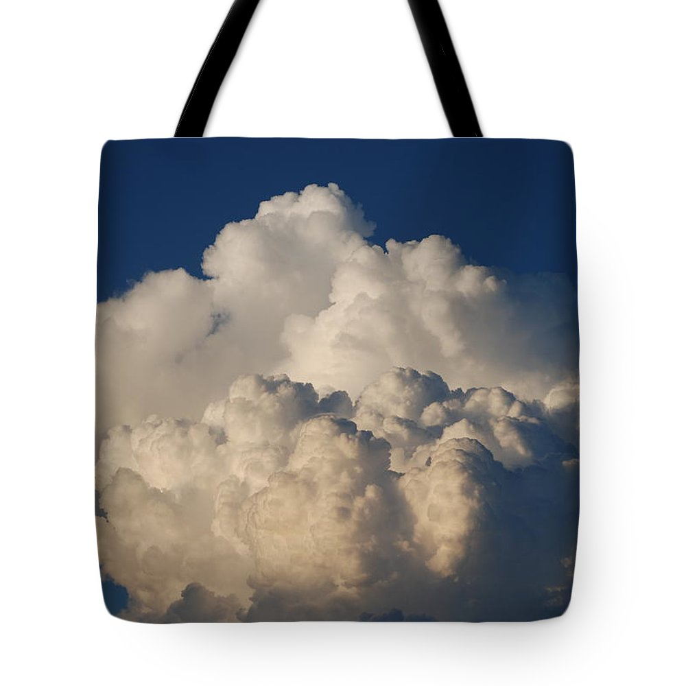 Clouds Tote Bag featuring the photograph Cloudy Day by Rob Hans