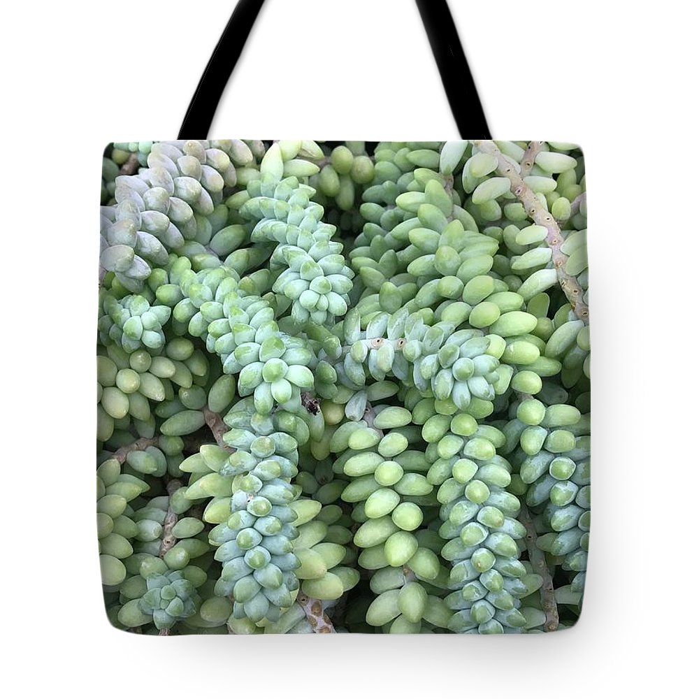 Flowers Tote Bag featuring the photograph Cluster by Jean Wolfrum