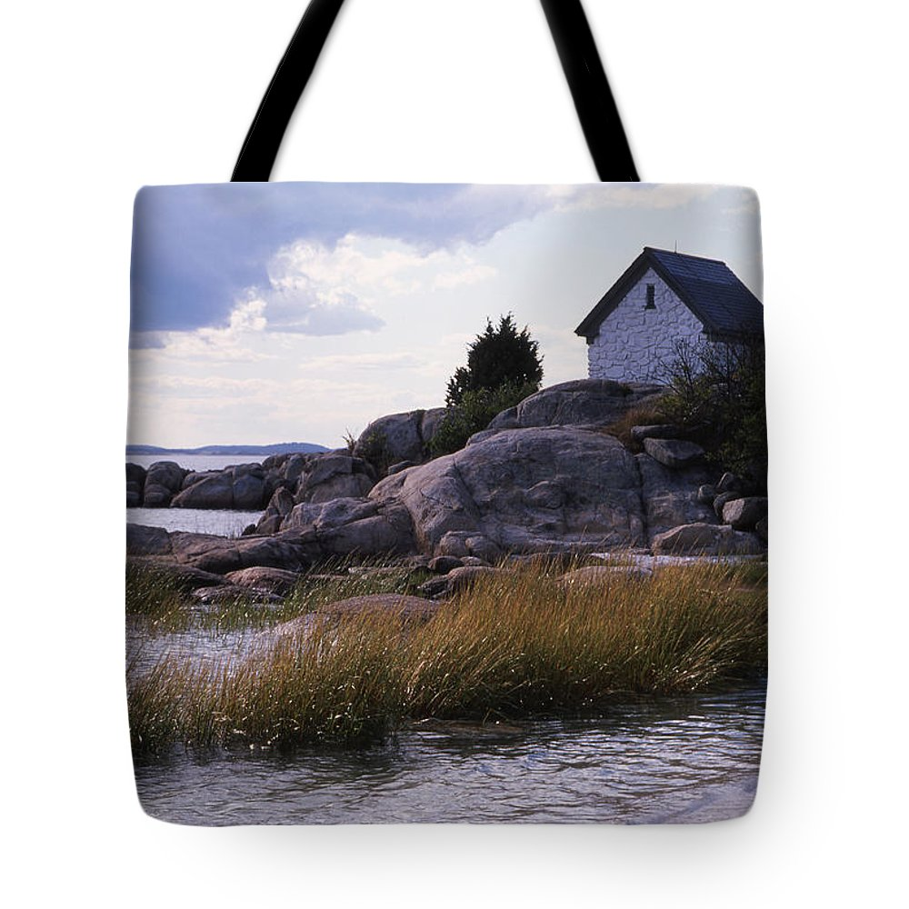 Landscape Beach Storm Tote Bag featuring the photograph Cnrf0909 by Henry Butz
