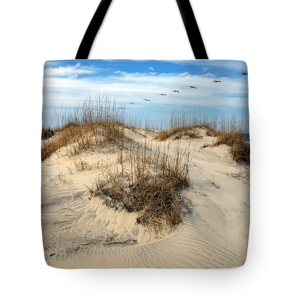 Beach Tote Bag featuring the photograph Coastal Formation by Kelvin Booker
