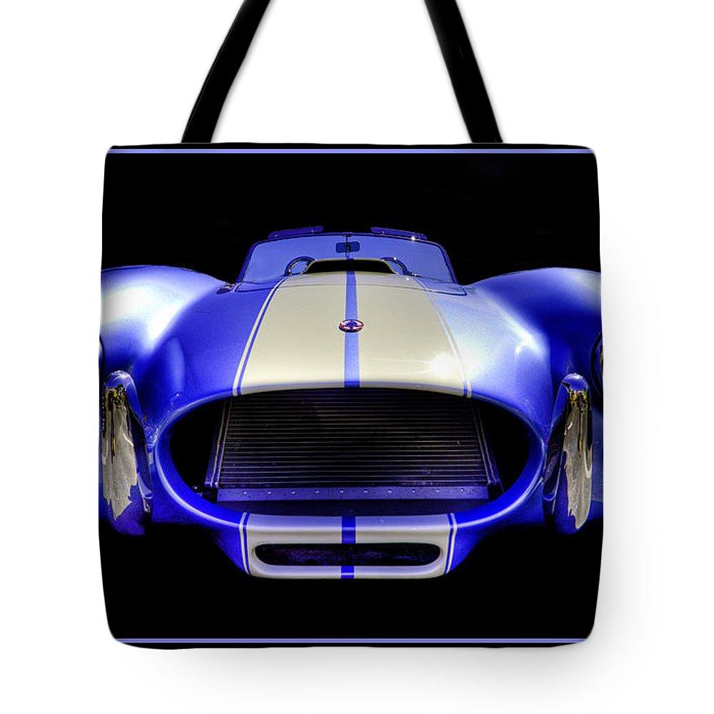 Cobra Tote Bag featuring the photograph Cobra by Jay Droggitis