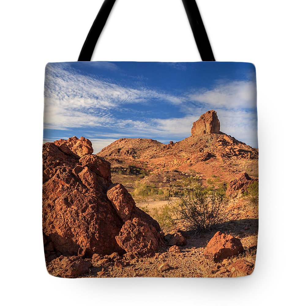 Landscape Tote Bag featuring the photograph Cobra Mountain by James Eddy