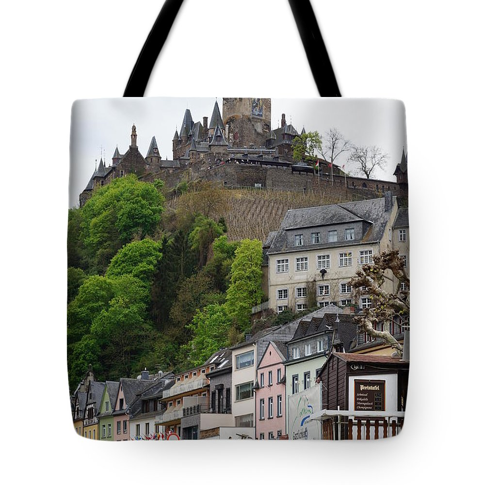 Castle Tote Bag featuring the photograph Cochem by Kenneth Hayes