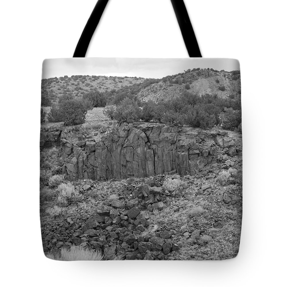 Rocks Tote Bag featuring the photograph Cochiti Rocks by Rob Hans