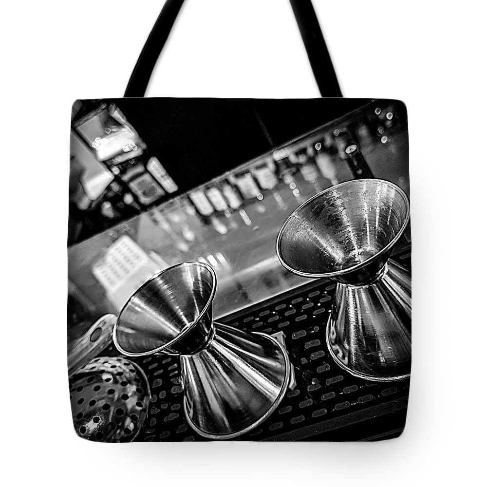 Bar Tote Bag featuring the photograph Cocktail Preparation by Ant Pruitt