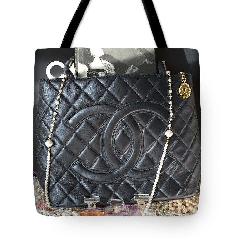 920dd3ea9ac3 Chanel Tote Bag featuring the photograph Coco Chanel Legacy by To-Tam Gerwe