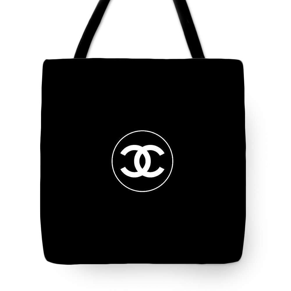 1694c860f753a3 Chanel Tote Bag featuring the digital art Coco Chanel by Tres Chic