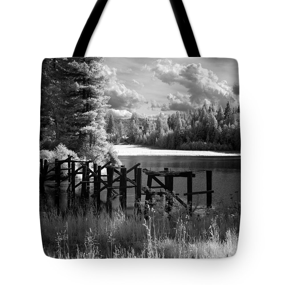 Tote Bag featuring the photograph Cocolala Creek Slough 2 by Lee Santa