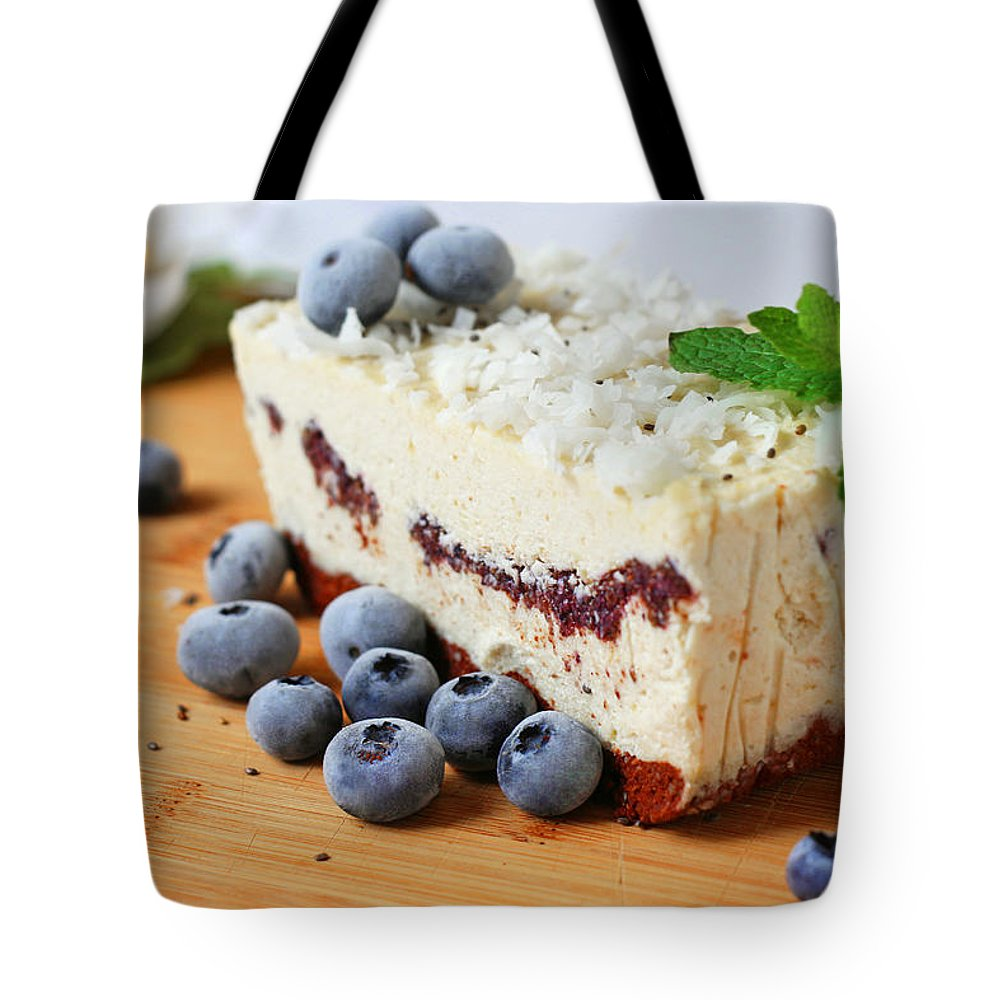 Coconut Tote Bag featuring the photograph Coconut Cashew Dreams by Iryna Goodall