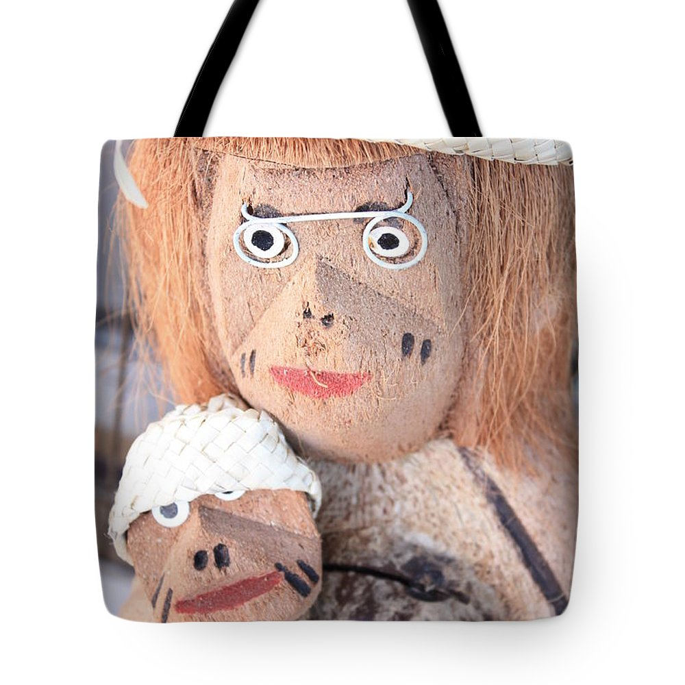Coconuts Tote Bag featuring the photograph Coconut Family by Carol Groenen