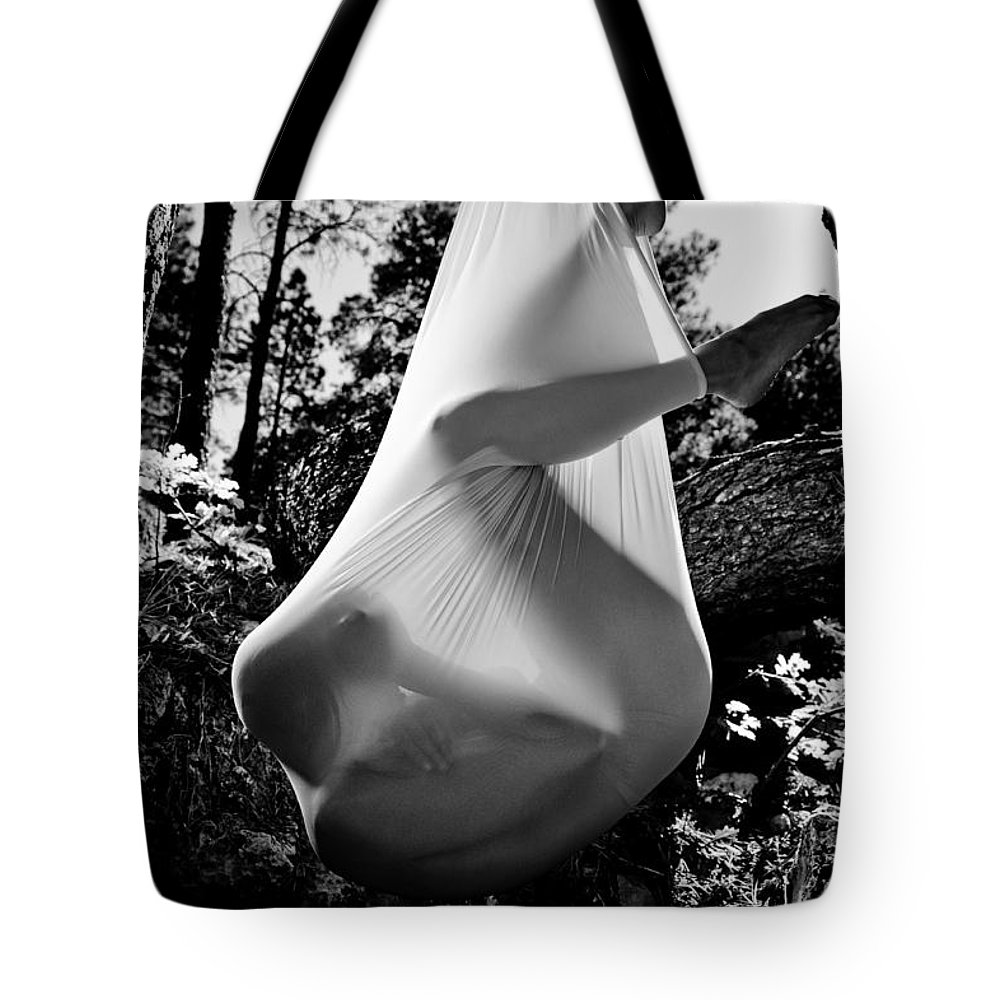 Cocoon Tote Bag featuring the photograph Cocoon by Scott Sawyer